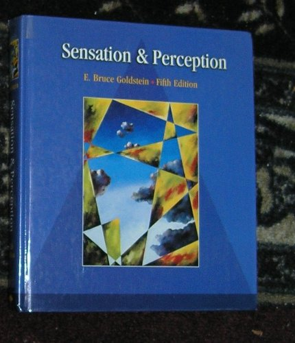 SENSATION AND PERCEPTION Fifth Edition