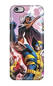 Tpu Case Cover For Iphone 6 Plus Strong Protect Case - X-men Design