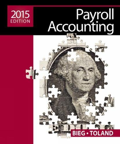 Payroll Accounting 2015 (with Cengage Learning's Online General Ledger, 2 terms (12 months) Printed Access Card)