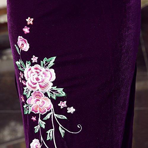 Violet Robe Femme Crayon Violett Acvip qf4UpRn