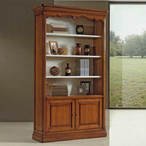 b cherregal antik cm 120x42 h 207 holz italienischer produktion online kaufen. Black Bedroom Furniture Sets. Home Design Ideas