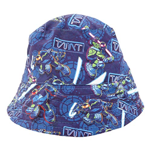 TMNT Bucket Hat - Toddler UPF 50 for Outdoors, Sun, Beach, and Pool Breathable - Boys/Girls