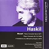 Clara Haskil: Mozart: Klavierkonzerte KV 271 & KV 459 / 9 Variationen über ein Menuett von Duport (Audio CD)