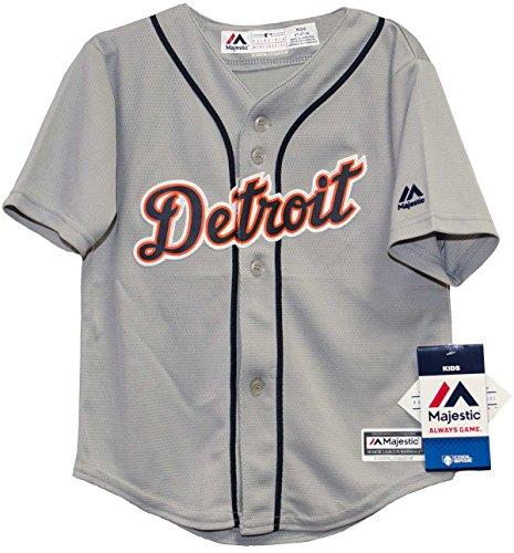 Detroit Tigers Road Infant Cool Base Jersey (24 Months) ()