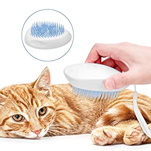Babyclub Dog Brush and Cat Brush Cats Deshedding Brush, Cat Hair Comb Cat Hair Remover,Quick Release Comb Professional…