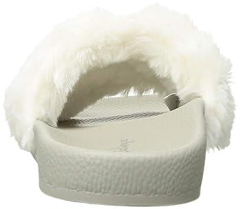 Women's Faux Fur Slide
