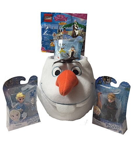 The Disney Frozen Olaf Themed Gift Basket - Perfect Idea for Easter for Toddlers 3, 4, 5, 6 , 7 girls or boys Christmas, Birthdays, Get Well, or Other Occasion!