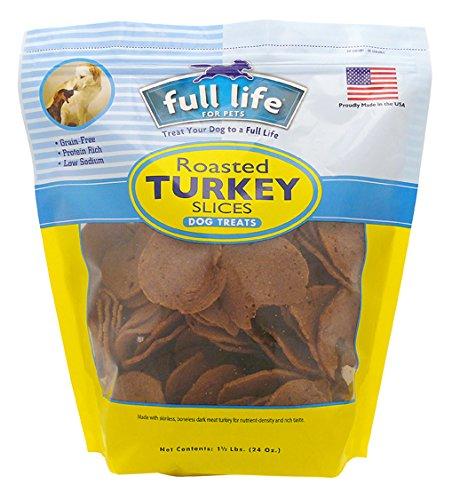 Full Life for Pets Roasted Turkey Slices, 1.5 (Pet Turkey)