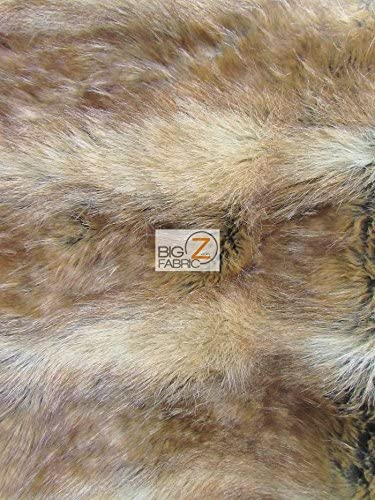 """Faux Fur Fabric Short Pile 60/"""" wide Sold By The Yard Shag Fox"""