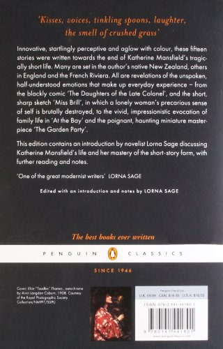 The Garden Party and Other Stories (Penguin Classics)