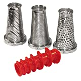 Weston Roma Tomato Strainer 4-Piece Accessory Kit