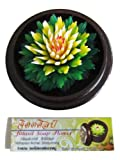 Jittasil Thai Hand-Carved Soap Flower, 4 Inch