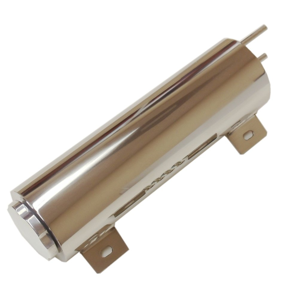 3''X 10'' Inch Stainless Radiator Overflow Tank Universal Fit. by DEMOTOR