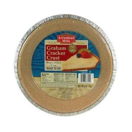 Arrowhead Mills Graham Cracker Pie Crust, 6 Ounce - 12 per case.