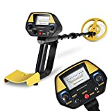 INTEY Metal Detector Waterproof Metal Detectors Starter Kit with Pinpointer &Discrimination Mode (Complimentary: Multi-Function Folding Shovel)
