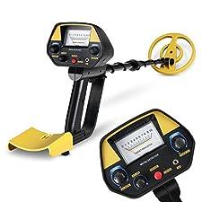 INTEY Metal Detector Waterproof Metal Detectors Starter Kit with Pinpointer &Discrimination Mode (Complimentary: Multi-Function Folding Shovel)