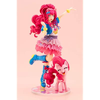 Kotobukiya SV228 My Little Pony: Pinkie Pie Bishoujo Statue, Multicolor: Toys & Games