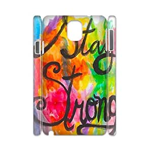 Stay Strong Personalized 3D Cover Case for Samsung Galaxy Note 3 N9000,customized phone case ygtg609118