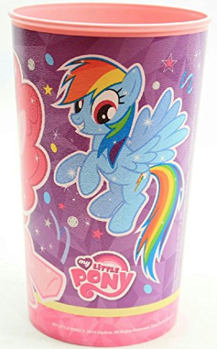 (Pack of 2) Cartoon Character Plastic Drinking Cup (My Little Pony)