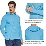 BALEAF Men's UPF 50+ Sun Protection Hoodie Long