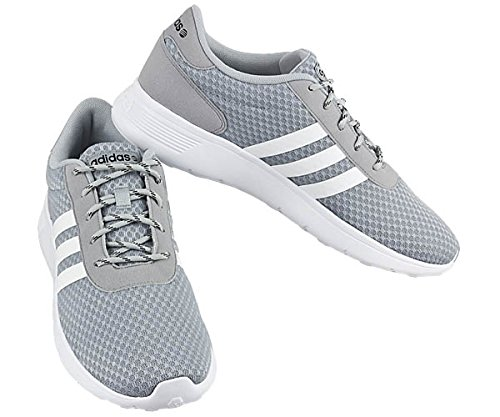 adidas Neo Lite Racer Men's Shoes Gray Size: 10.5: Amazon.co ...