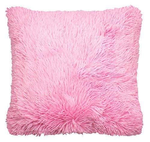 Funda de Cojín Acolchada Gruesa Color Rosa Caramelo, Bebé ...