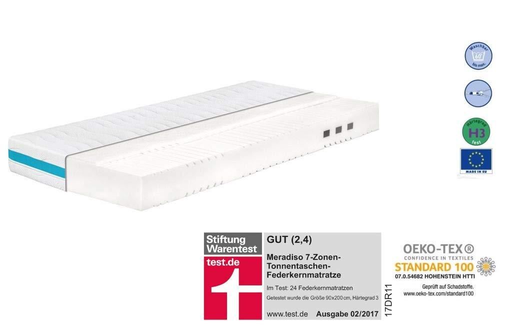 Amazonde Meradiso 7 Zonen Premium Matratze Kaltschaummatratze Komfort 90x200