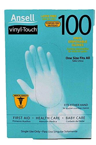 Ansell Vinyl Touch Gloves 100ct Health World Each