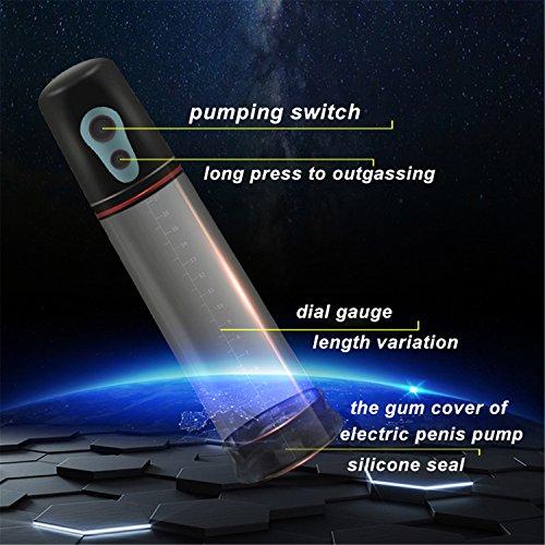 Automatic Penis Enlargement Vibrator For Men Electric Penis Pump,Male Penile Erection Training,Penis Extend Sex Toys Shop Black