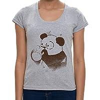 - Camiseta Panda Coffee - Feminina Camiseta Panda Coffee - Feminino - M