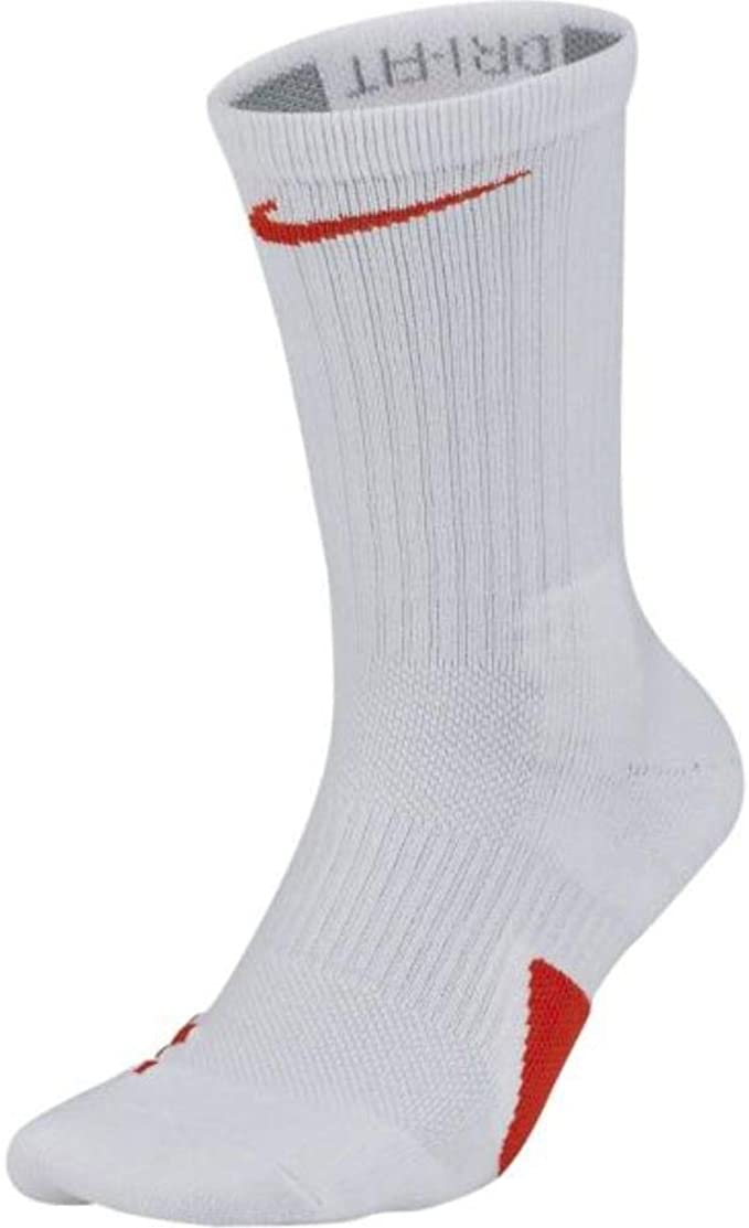 Amazon.com: Nike Elite Basketball Crew Socks X-Large (Fits ...
