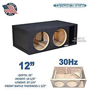 "12"" Dual Competition Ported Sub Box"