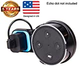 Wall Mount Accessories for Echo Dot 2nd Generation and Similar Active Speakers With Short Cord - Black