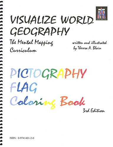 Pictography Flag Coloring Book (Visualize World Geography In 7 Minutes a Day)