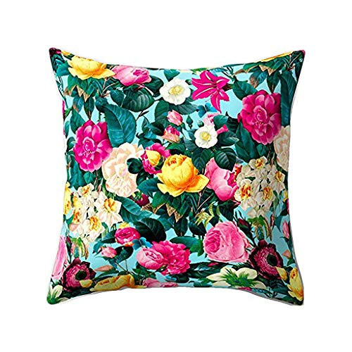 ALLYOUNG Home Decor Cushion Cover Style Throw Pillowcase Pillow Covers for Car Sofa