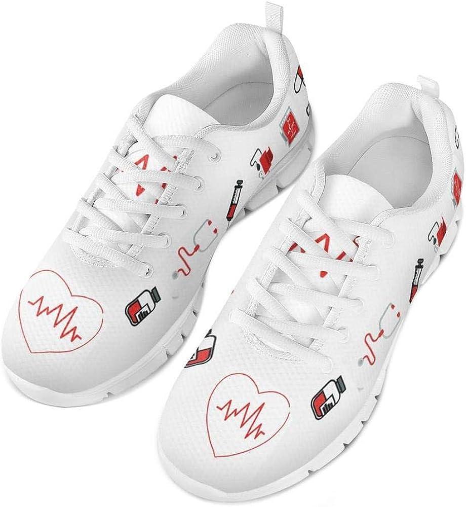 Coloranimal - Zapatillas de Enfermera para Mujer, para Correr, Caminar, Primavera, Verano, Color, Talla 42 EU: Amazon.es: Zapatos y complementos
