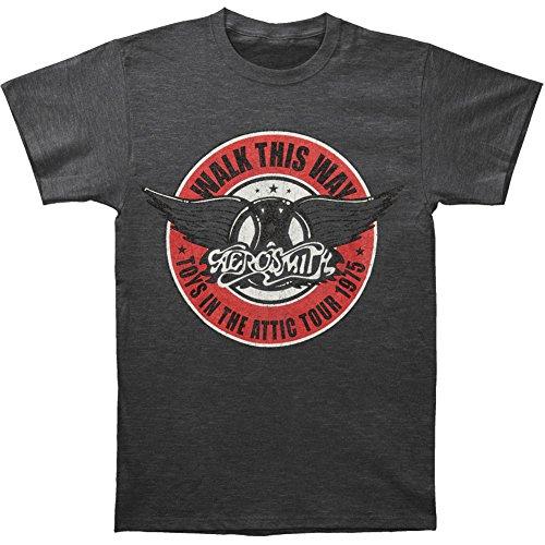 Aerosmith Walk This Way 1975 Tour Adult T-shirt