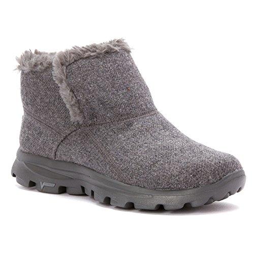 Skechers, Damen-Stiefel Go Walk Move Arctic, grau