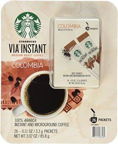Starbucks Colombia via instant medium roast coffee 26 - Mall Colombia