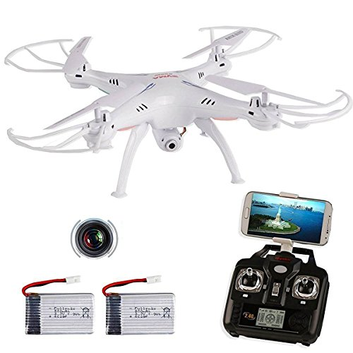 SYMA X5SW -G RC Drone with Camera and Transmitter Headless Wifi FPV Quadcopter Radio Controlled