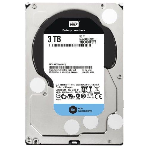 Western Digital 3 TB 3.5-Inch WD Se SATA III 7200 RPM 64 MB Cache Bulk/OEM Enterprise Hard Drive WD3000F9YZ [Amazon Frustration-Free Packaging], Best Gadgets