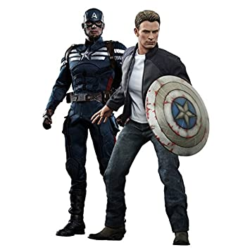 """1//6 Captain America Shirt Jeans Bag Clothing Set For 12/"""" Hot Toys Male Figure"""