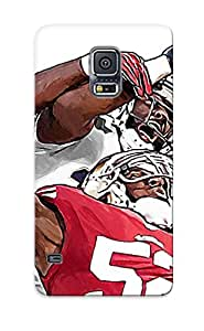 Freshmilk New Arrival YjjNMB-3362-GwNxE Premium Galaxy S5 Case(SAN FRANCISCO 49ers Nfl Football T)