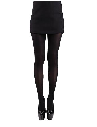 df34d8ca9fb 10STAR11 Women s Premium 80 Den Versatile Reinforced Toe Vivid Pantyhose  Tights BLACK
