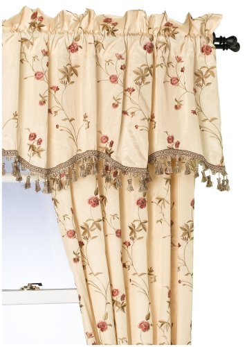 - CROSCILL Rose Garden Tailored Valance