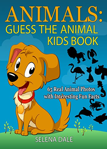 nimal Kids Book: 65 Real Animal Photos with Interesting Fun Facts (Guess And Learn Series Book 1) ()