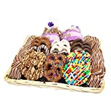 All City Candy's Cravings Collection Gourmet Hand Dipped Chocolate Covered Pretzels and Cookies Basket