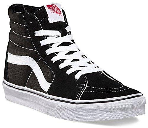 Camionnettes Vd5, Chaussures De Sport Unisexe Erwachsene Toile Noir / Blanc