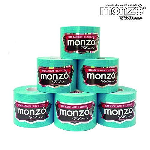 MONZÓ, Cinta Kinesiológicas, Cinta Kinesio, Kinesio Tapes (Blue)