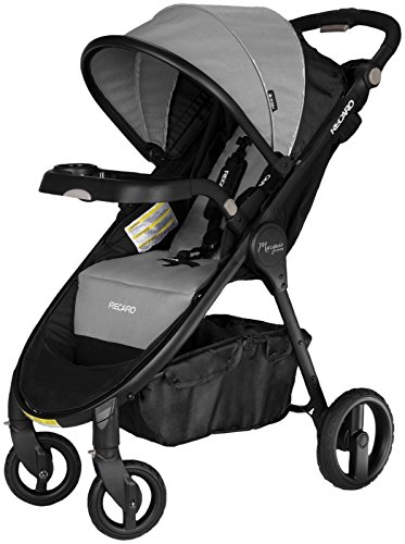 RECARO 444.01.GRNT Performance Marquis Luxury Stroller, Granite by Recaro